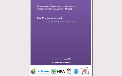 AEGIS Program Report (Jan-June 2017)