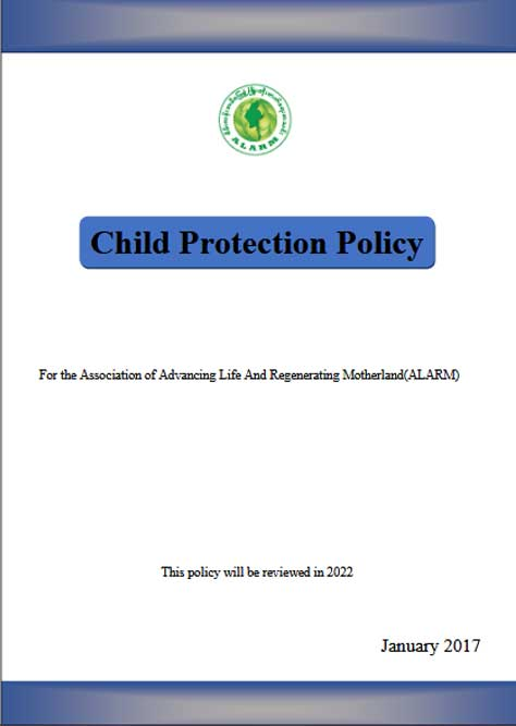 ALARM Child Protection Policy (January 2017 )
