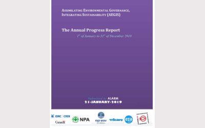 AEGIS Program Report (Jan-Dec 2018)