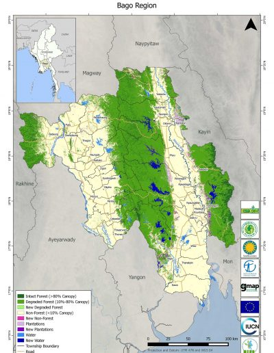 Bago Forest Cover Change
