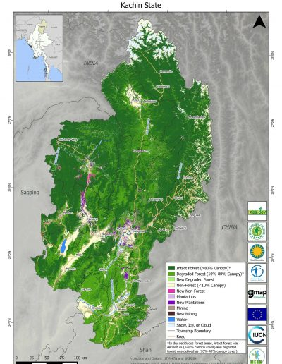 Kachin Forest Cover Change
