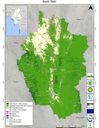 Kayah Forest Cover Change