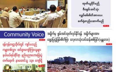 Myanmar Green Affairs (Volume 5, Issue 2)