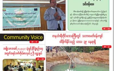 Myanmar Green Affairs (Volume 6, Issue 1)