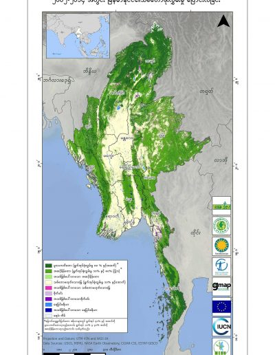 Myanmar Forest Cover Change