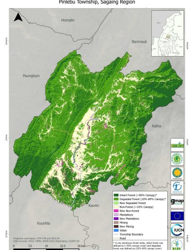 Pinlebu Forest Cover Change