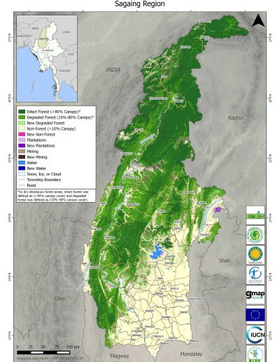 Sagaing Forest Cover Change