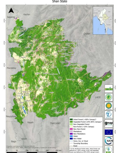 Shan Forest Cover Change