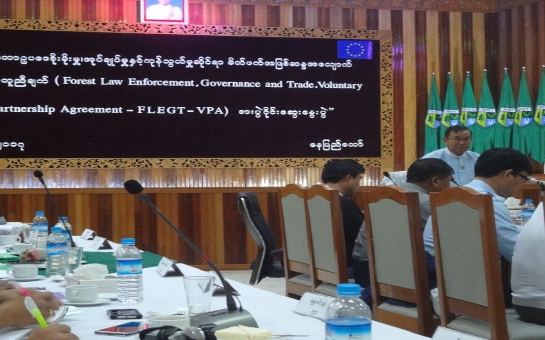 The FLEGT needs to be continued to fight against illegal logging and deforestation to effectively mitigate climate change in Myanmar.