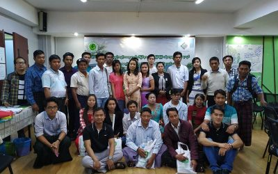 """Training of Trainers on """"Role of CSOs for Conflict Resolution Through Understanding Resource Management & Rights"""" held in Yangon for five days"""