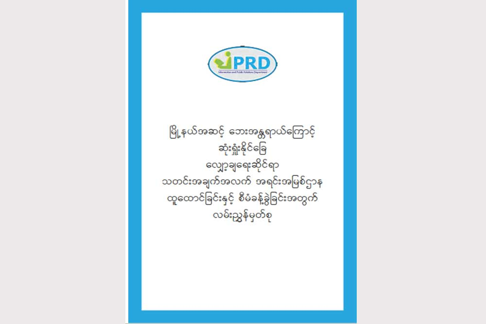 Disaster Management Guideline Note