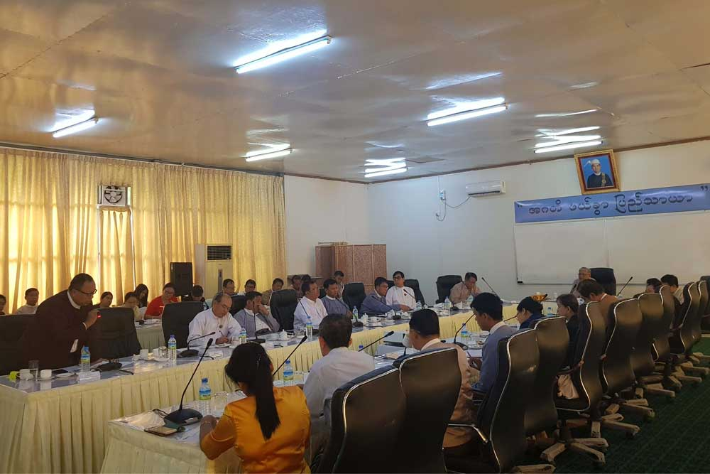Myanmar EITI tripartite coalition calarify its 4th report on transparency initiatives
