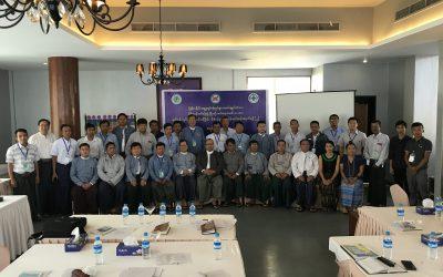 MFMA_EAM Training and Workshop at Naypyitaw