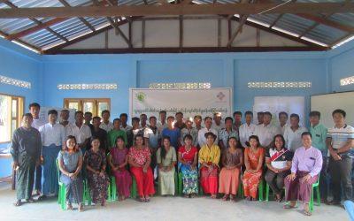 Environmental Sensitivity Map Training at Taninthari