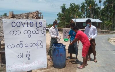 COVID – 19 Protective Equipment Distribution in ALARM's Project Area