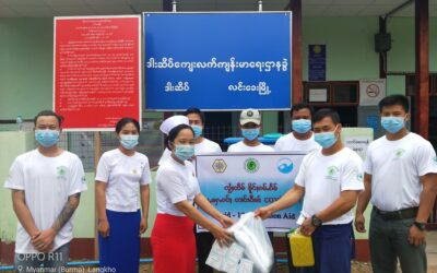 ALARM's Contribution to COVID-19 Response of Myanmar